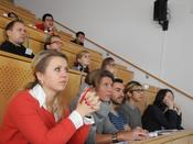 Attentive audience at Havel Spree Colloquium