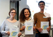 DCPS Prizes for best posters were awarded to Sarah Lederer, Tanja Seibert and Fabio Moratti.