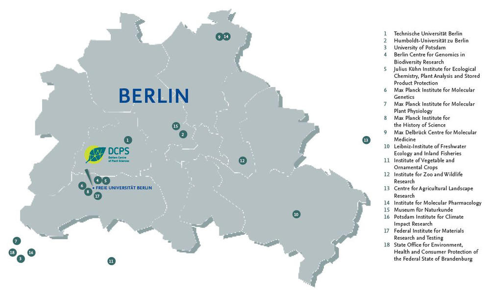 Cooperation partners of DCPS in the Berlin-Brandenburg area